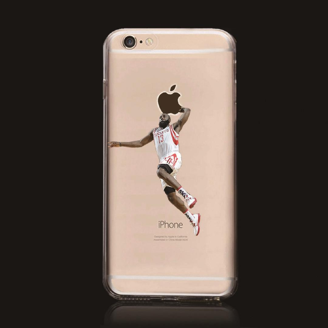de2916bae215 James Harden Case Cover For Iphone 5 6 7 8 Plus Apple Houston Mvp Fear the  Beard