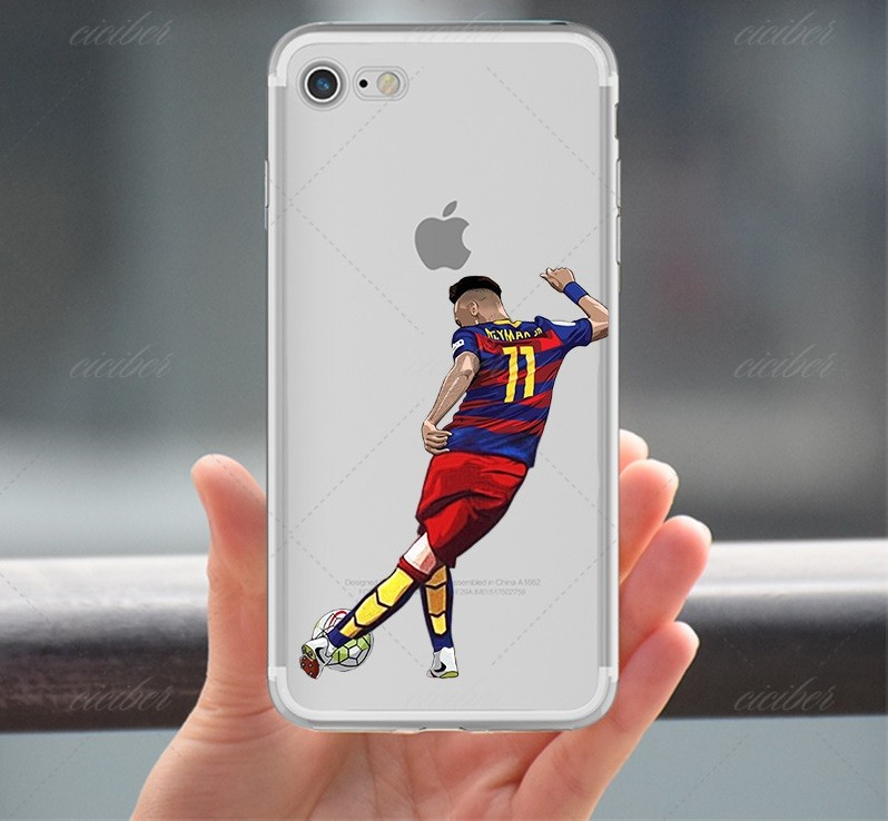 7734e9b139d neymar champions league case cover for iphone 5 6 7 8 plus apple